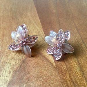 J. Crew Floral Earrings